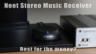 neet bluetooth stereo adapter set up test review