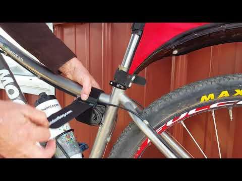 Bicycle Frame Strap