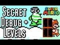 Super Mario Bros 3 SECRET CHEAT MODE & Hidden Levels (NES)