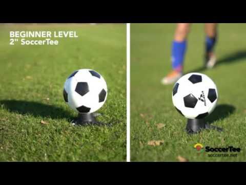 SoccerTee Soccer Training Helps Stop Toe Kicks