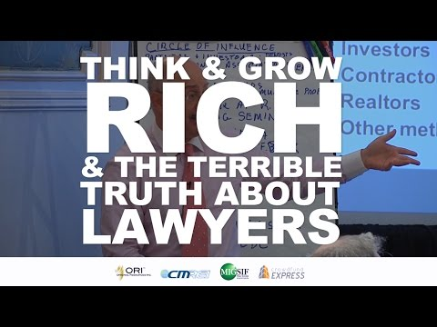 Think and Grow Rich & The Terrible Truth About Lawyers
