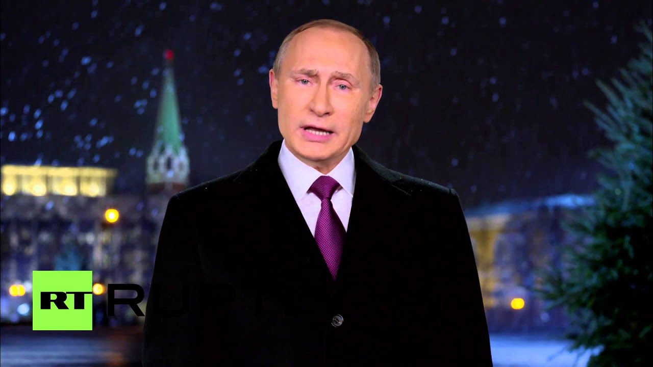 russia president putin sends new years wishes from moscow youtube