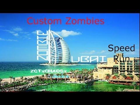 Custom Zombies: ZCT Dubai Speed Run Coop
