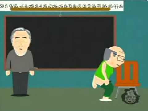 South Park - Miss Garrison Flinging Poop