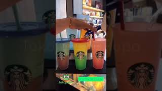 Starbucks Official Tumbler - Color Changing Reusable Cups
