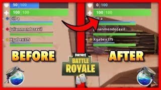 Shield Bar *GLITCH* In Fortnite: Battle Royale!
