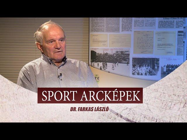 SPORT ARCKÉPEK - DR. FARKAS LÁSZLÓ