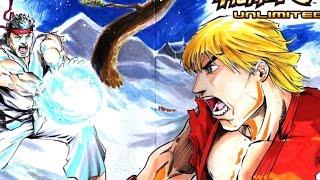 SpeedArt - Street Fighter Comic Cover Commission, Ryu vs Ken - CreeesArt