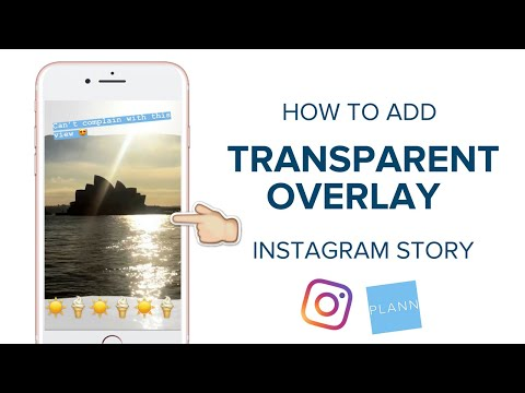 How to Get a Transparent Overlay Instagram Story