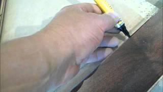 Hardwood Floor Transition Preparation - Important Trick!