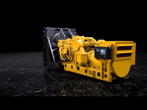 Cat 3512C (HD) Land Drilling Module (China Stage III Non-Road Mobile)