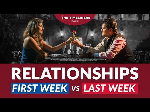 Relationships: First Week vs Last Week | The Timeliners