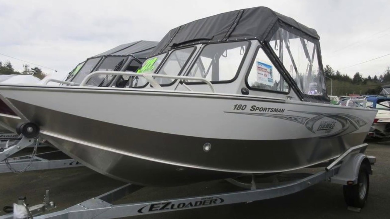 New 2017 Hewescraft Sportsman 180 Boat For Sale in Coos Bay, OR
