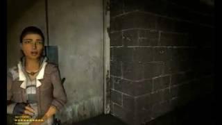 Alyx Vance -- Episode One reaction to gunship