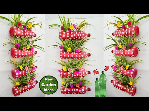 plastic bottle hanging pot//hanging plant pots//new method
