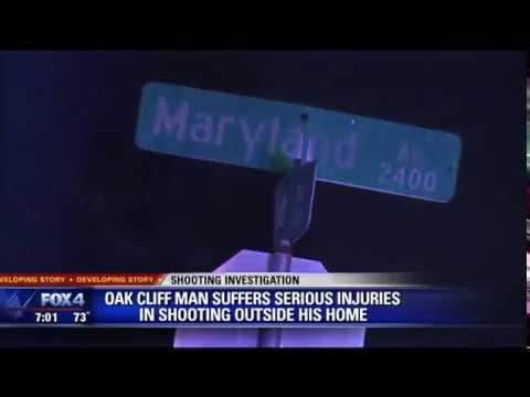 Oak Cliff man shot in his own driveway