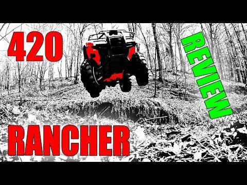HONDA RANCHER 420 REVIEW