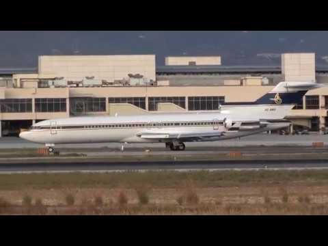Al Anwa Aviation Private Boeing 727-200 HZ-AB3 Taxing Malaga LEMG