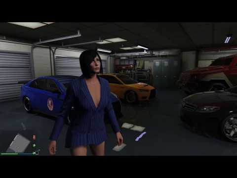 GTA 5 Online - scary and annoying garage bug (31-03-2017)