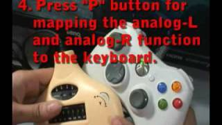 XCM XFPS 3.0 Sniper PLUS map 360 analog buttons to keyboard