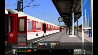 Trainsimulator Railworks 2010 Gameplay High Settings *Full-HD*