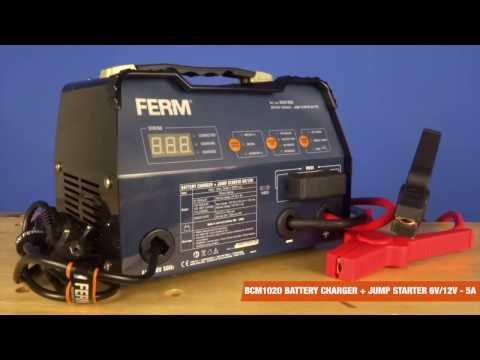ferm-electronic-battery-charger---with-jumpstarter---6v/12v- -bcm1020