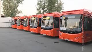 Скачать Новые автобусы с кондиционерами вышли на ростовские маршруты 26 94 и 96
