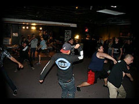 dancing hardcore