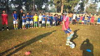 Grass root football at Panchakoshi bhuruwa kailali