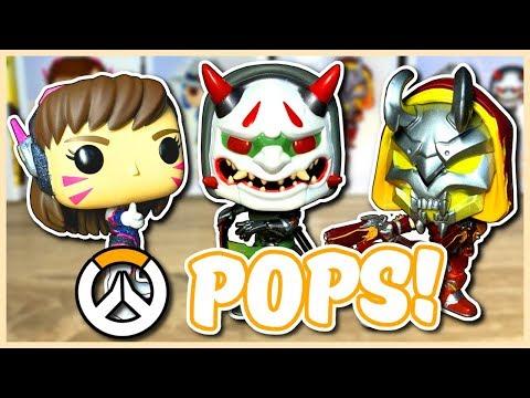 Overwatch - RARE OVERWATCH FUNKO POPS