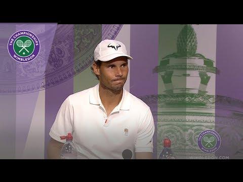 Rafael Nadal Fourth Round Press Conference Wimbledon 2019