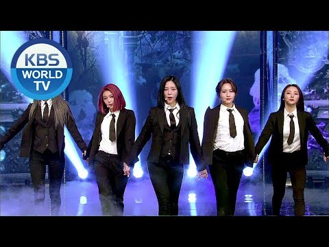 Dreamcatcher (드림캐쳐) - Full Moon [Music Bank / 2018.06.08]