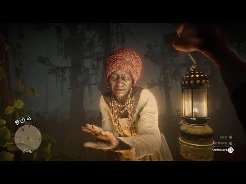 Swamp Lady Predicts Arthur's Future Red Dead Redemption 2 thumbnail