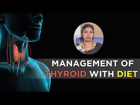 Daily Diet/Meal Plan for Thyroid | Diet Chart for Thyroid | Thyroid Diet | Mrs. Srilatha #Dietitian