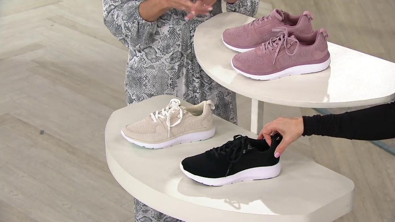 Vionic Mesh Zip Bungee Sneaker - Remi