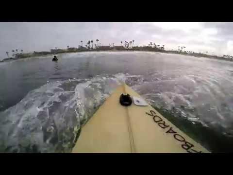 Surfing POV | October 15th | 2016 (RAW FOOTAGE)