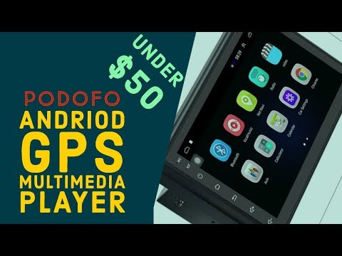 Andriod GPS Navigation Car Multimedia Player under $50