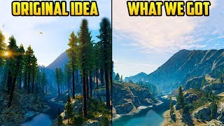 WHAT THE ORIGINAL MT CHILIAD AREA LOOKED LIKE IN GTA 5