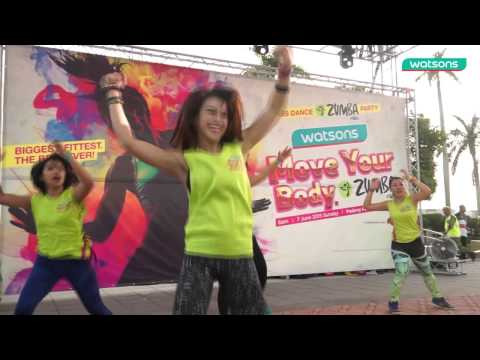 watsons penang zumba-Videography by Markbay Videos