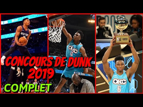 CONCOURS DE DUNK ALL STAR GAME  ! COMPLET HD