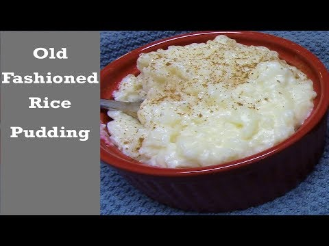 OLD FASHIONED RICE PUDDING | 5 Ingredients