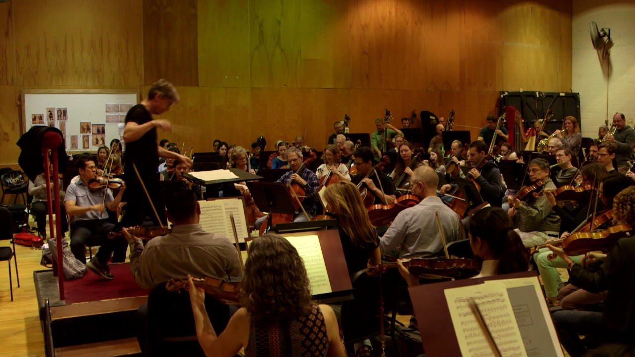Esa-Pekka Salonen Rehearses with the Met Orchestra