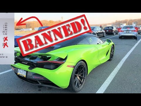 My 720S Got Officially BANNED From the Track... Ran a 9.XX at 147MPH!!! thumbnail