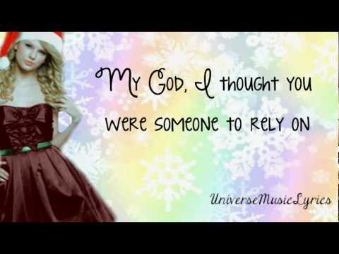 Last Christmas- Taylor Swift (Lyrics Video) HD