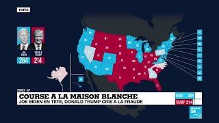 Nevada, Géorgie, Pennsylvanie, le dernier point sur la situation électorale aux États-Unis