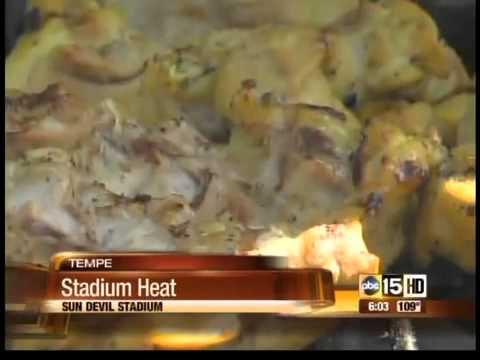 The heat is on at Sun Devil Stadium