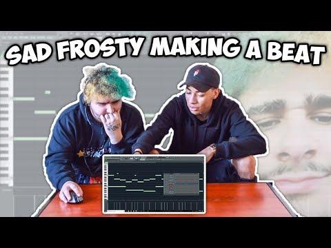 SAD FROSTY TRIES MAKING A BEAT FROM SCRATCH!!! (Fl Studio 12 Beat Making)