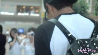 [130902]Lee Min Ho - Incheon Airport to LA by 대만Fion