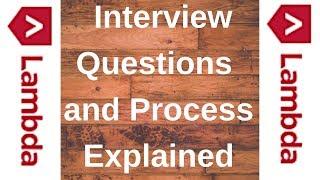 Lambda School Interview Questions and Process