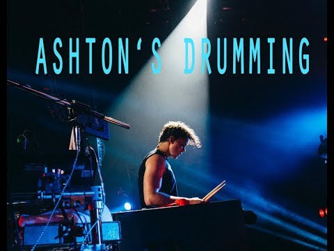 Ashton Irwin Playing Drums